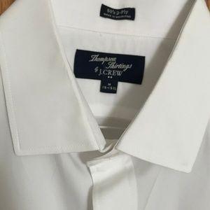 J.Crew Men's White Button Down Shirt
